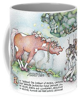 Fickle Creatures Foto Coffee Mug
