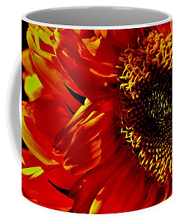 Fickle Sunflower Coffee Mug
