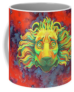 Fidardo's Lion Coffee Mug by Andrew Danielsen