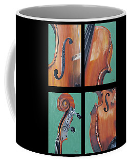 Fiddle Quartet Coffee Mug