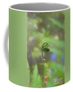 Fiddlehead Fern - Macro Coffee Mug