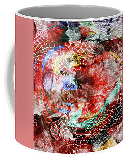 Coffee Mug featuring the photograph Fidget by Nareeta Martin