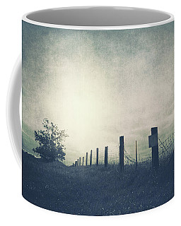 Field Beyond The Fence Coffee Mug