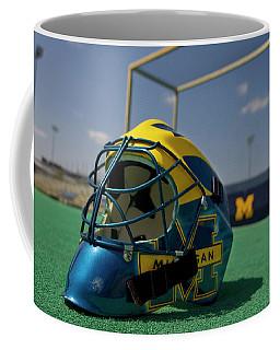 Field Hockey Helmet Coffee Mug