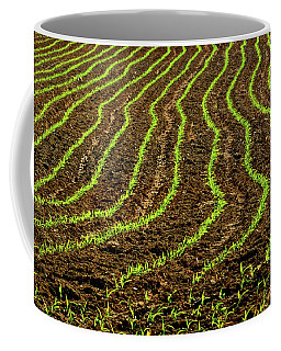 Field Lines Coffee Mug