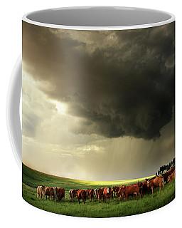 Field Of Beams Coffee Mug