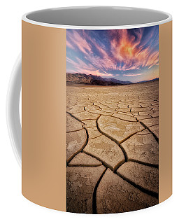 Field Of Cracks Coffee Mug