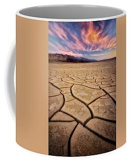 Field Of Cracks Coffee Mug by Nicki Frates