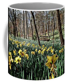 Field Of Daffodils Coffee Mug by Elijah Knight