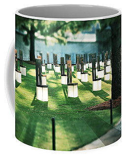 Field Of Empty Chairs Coffee Mug