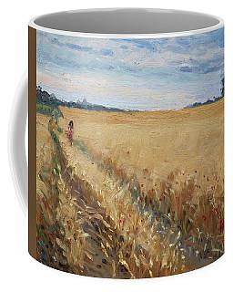 Field Of Grain In Georgetown On Coffee Mug