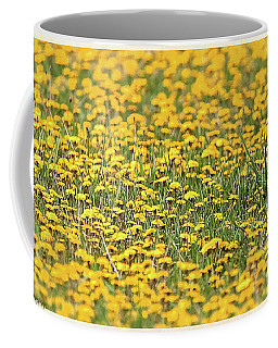 Field Of Lions Coffee Mug