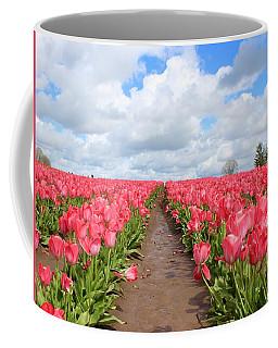 Field Of Pink Coffee Mug