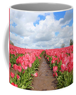 Field Of Pink Coffee Mug