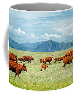 Field Of Reds Coffee Mug