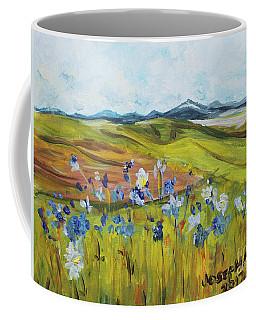 Field With Flowers Coffee Mug