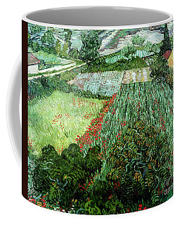 Field With Poppies Coffee Mug