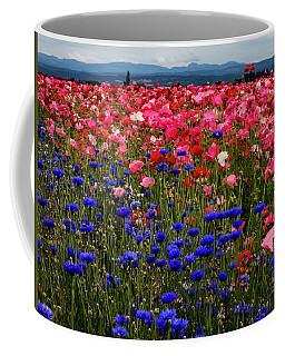 Fields Of Flowers Coffee Mug