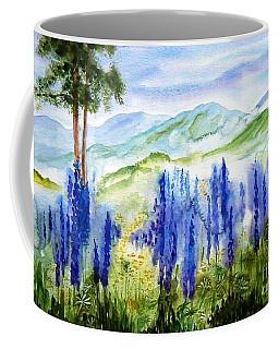 Fields Of Lupines Coffee Mug