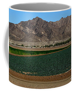 Fields Of Yuma Coffee Mug by Greg Patzer