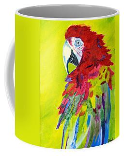 Fiery Feathers Coffee Mug by Meryl Goudey