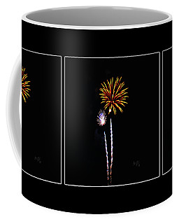 Fiesta Fireworks Coffee Mug by Krista-