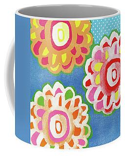 Fiesta Floral 3- Art By Linda Woods Coffee Mug