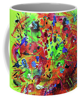 Fiesta Coffee Mug by Jeanette French