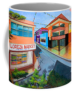 Fiesta Ko Sa Texas Coffee Mug by Lorna Maza
