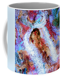 Coffee Mug featuring the painting Fifth Bardo by Dominic Piperata