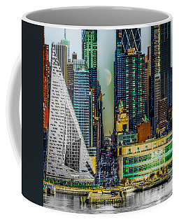 Coffee Mug featuring the photograph Fifty-seventh Street Fantasy by Chris Lord