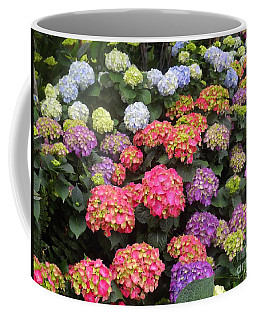 Fifty Shades Of Hydrangea Coffee Mug