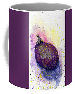 Coffee Mug featuring the painting Fig by Ashley Kujan