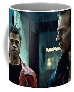 Fight Club #1 Large Size Painting Coffee Mug
