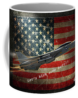 Fighter Jet F14 Kick Butt Coffee Mug