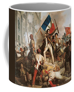 Fighting At The Hotel De Ville Coffee Mug