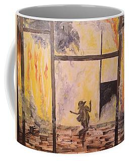 Fighting Fire Tap Dancer Coffee Mug