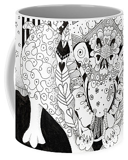 Figments Of Imagination - The Beast Coffee Mug