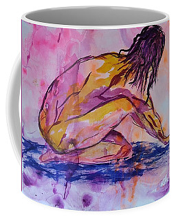 Figurative Abstract Nude 7 Coffee Mug