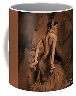 Coffee Mug featuring the painting Figurative Art 007dc by Gull G