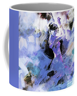 Coffee Mug featuring the painting Figurative Dance Art 509w by Gull G