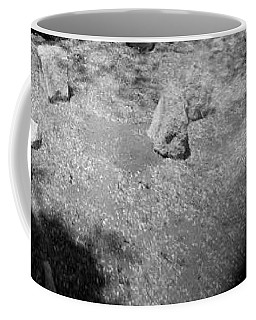 Coffee Mug featuring the photograph Figurative Holga Tryptich 4 by Catherine Sobredo