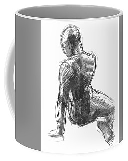 Figure Study Of The Back Coffee Mug