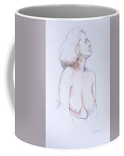 Figure Study Profile 1 Coffee Mug