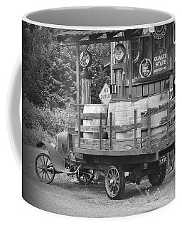 Fill Er Up          B And W Coffee Mug