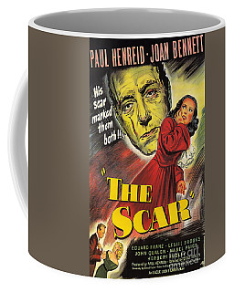 Film Noir Poster  The Scar Coffee Mug