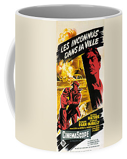 Film Noir Poster   Violent Saturday Coffee Mug