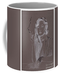 Film Star Negative -- Portrait Of Chinese Film Star Coffee Mug