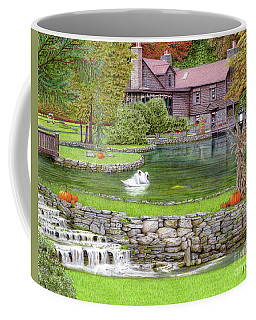 Fin N Feather At Seven Springs Coffee Mug by Albert Puskaric