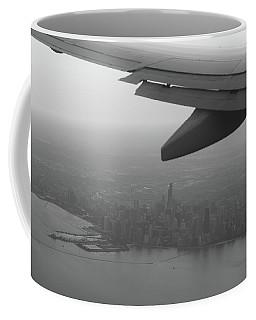 Final Approach Chicago B W Coffee Mug